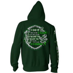 Slytherin Harry Potter Zip Up Hoodie Fullprinted Zip Up Hoodie - WackyTee
