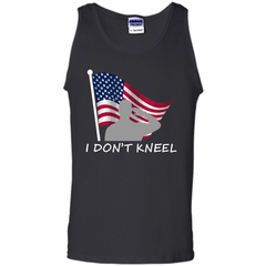 I Don't Kneel T-Shirt American Flag T-shirt Tank Top - WackyTee