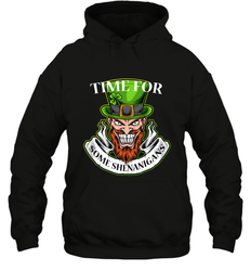 Time For Some Shenanigans Irish ShirtUnisex Heavyweight Pullover Hoodie