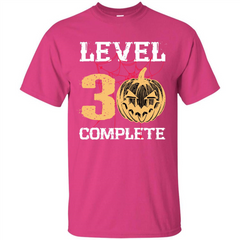 Halloween T-shirt Level 30 Complete Custom Ultra Tshirt - WackyTee