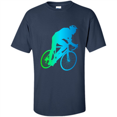 Bike Rider T-shirt Colorful Bicycle Biking Lover T-shirt Custom Ultra Cotton - WackyTee