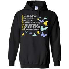 Friend T-shirt Faithful Reliable Inspired Everlasting Pullover Hoodie 8 oz - WackyTee