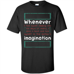 Whenever I Feel Myself Slipping In To The Abyss T-shirt Custom Ultra Cotton - WackyTee