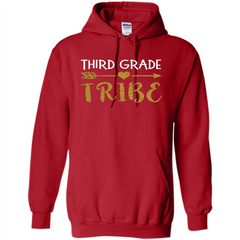 Third Grade Tribe T-shirt School Day T-shirt Pullover Hoodie 8 oz - WackyTee