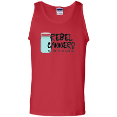 Rebal Canners Welcome To The Dark Side T-shirt Tank Top - WackyTee