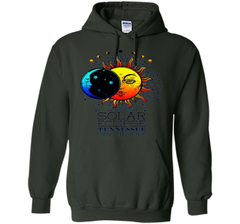 Tennessee Total Solar Eclipse Tennessee Ancient Tshirt cool shirt Pullover Hoodie 8 oz - WackyTee