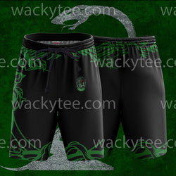 Cunning Like A Slytherin Harry Potter Beach Short