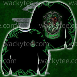 Cunning Like A Slytherin Harry Potter 3D Sweater