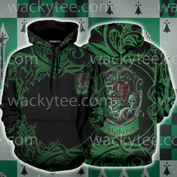 Cunning Like A Slytherin Harry Potter 3D Hoodie