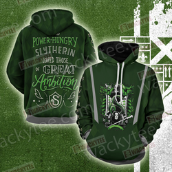 And Power-Hungry Slytherin Loved Those Of Great Ambition 3D Hoodie
