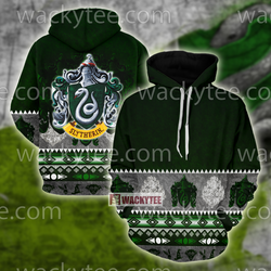 Cunning Like A Slytherin Harry Potter Wacky Style 3D Hoodie