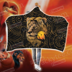 The Lion King - King of the Jungle 3D Hooded Blanket
