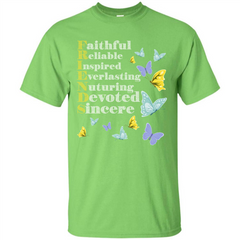 Friend T-shirt Faithful Reliable Inspired Everlasting Custom Ultra Tshirt - WackyTee