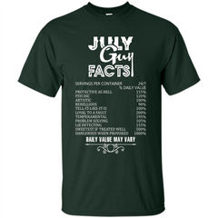 July Guy Facts T-shirt Custom Ultra Cotton - WackyTee