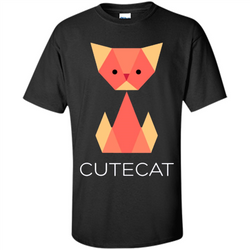 Love Cat T-Shirt Origami Cat