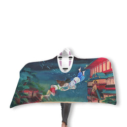 Spirited Away Hooded Blanket