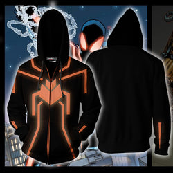 Amazing Spider-man - The Stealth Suit Zip Up Hoodie Jacket