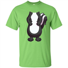 Skunk Costume T-Shirt Forr Halloween Custom Ultra Tshirt - WackyTee