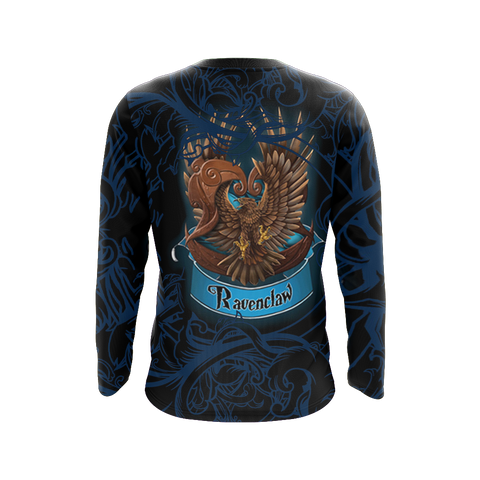 Wise Like A Ravenclaw Harry Potter 3D Long Sleeve Shirt
