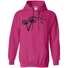 Dandylion Flight T-shirt Pullover Hoodie 8 oz - WackyTee