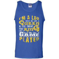 Leo T-shirt Im A Leo Treat Me Like A Queen Ill Treat You Tank Top - WackyTee