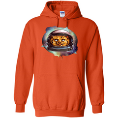 Space Kitty T-shirt Pullover Hoodie 8 oz - WackyTee