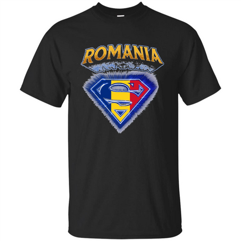 Power From Romania T-shirt Black / S Custom Ultra Tshirt - WackyTee