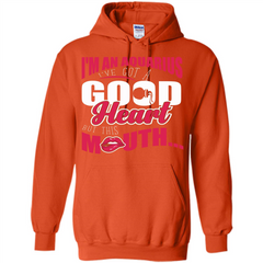 Aquarius T-shirt Im An Aquarius Ive Got A Good Heart Pullover Hoodie 8 oz - WackyTee