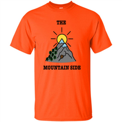 The Mountain Side T-shirt Custom Ultra Tshirt - WackyTee