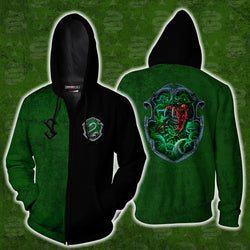 A Slytherin Would Kill For You Harry Potter Zip Up Hoodie
