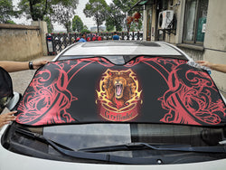 Brave Like A Gryffindor Harry Potter Auto Sun Shade