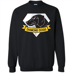 Diamond Dogs T-shirt Printed Crewneck Pullover Sweatshirt 8 oz - WackyTee