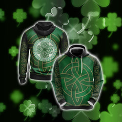 Irish Saint Patricks Day Unisex 3D Hoodie