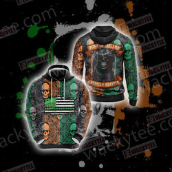 Sons Of Ireland American Chapter Happy Saint Patrick's Day Unisex 3D Hoodie