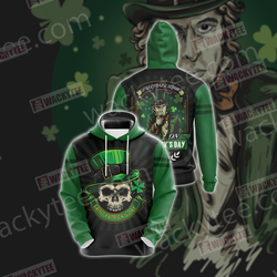 Everyone's Irish Saint Patricks Day Unisex 3D Hoodie