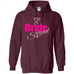 Bride Squad Bachelorette Party T-shirt Pullover Hoodie 8 oz - WackyTee