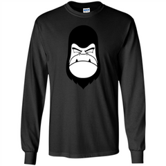 Gorilla Yes T-shirt LS Ultra Cotton Tshirt - WackyTee