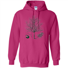 Oak Tree T-Shirt. Tree Acorn Oak Tree Woodsman T-shirt Pullover Hoodie 8 oz - WackyTee