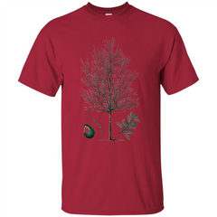 Oak Tree T-Shirt. Tree Acorn Oak Tree T-shirt Custom Ultra Tshirt - WackyTee