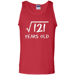 Square Root Of 121 T-shirt 11Th Birthday 11 Years Old T-Shirt Tank Top - WackyTee