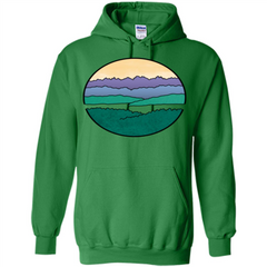 Mountains Over The Sound T-shirt Pullover Hoodie 8 oz - WackyTee