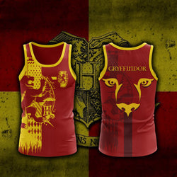 Quidditch Gryffindor Harry Potter 3D Tank Top