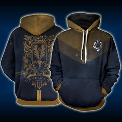 Ravenclaw Edition Harry Potter New 3D Hoodie