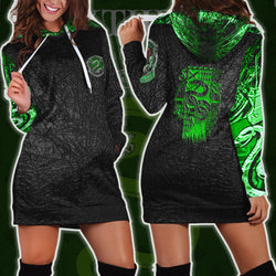 The Slytherin Snake Harry Potter 3D Hoodie Dress