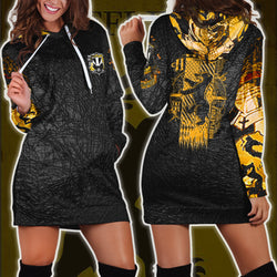 The Hufflepuff Badger Harry Potter 3D Hoodie Dress