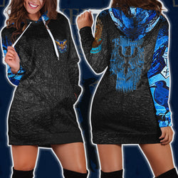 The Ravenclaw Eagle Harry Potter 3D Hoodie Dress