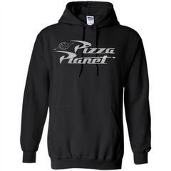 Pizza Planet T-shirt Pullover Hoodie 8 oz - WackyTee