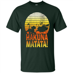 Cartoon T-shirt The Lion King Hakuna Matata Custom Ultra Tshirt - WackyTee