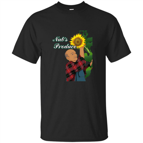 Nub's Produce Durham Sunflower T-shirt Black / S Custom Ultra Tshirt - WackyTee