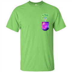 Rick And Morty T-shirt Tiny Rick T-shirt Custom Ultra Tshirt - WackyTee